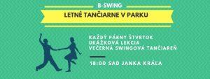 Swingové tančiarne v Sade Janka Kráľa @ Sad Janka Kráľa | Bratislavský kraj | Slovensko